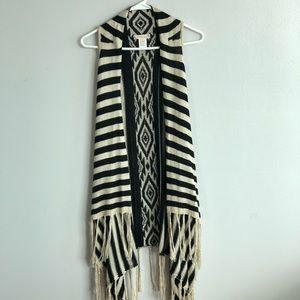 Stops/Tribal Print Kimono Top